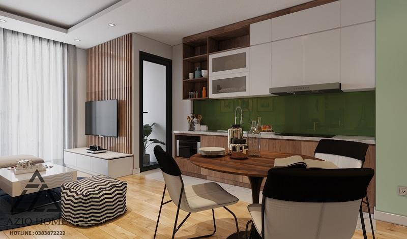 Thiết kế nội thất căn hộ chung cư ở Hà Nội