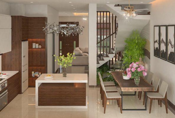 Thiết kế nội thất Biệt thự Foresa Xuân Phương, Nam Từ Liêm, Hà Nội