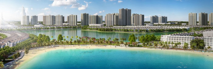 Thi công nội thất chung cư Vinhomes Ocean Park Gia Lâm Hà Nội