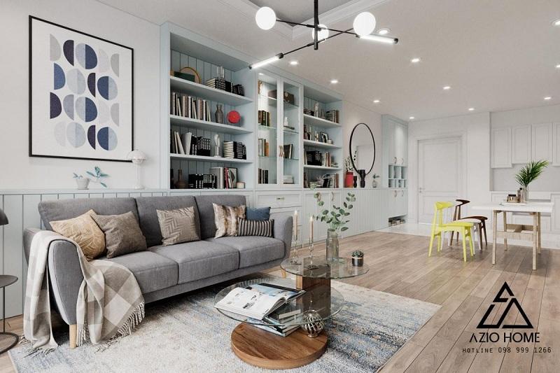 Thiết kế nội thất căn hộ chung cư theo phong cách Bắc Âu (Scandinavian) - Azio Home