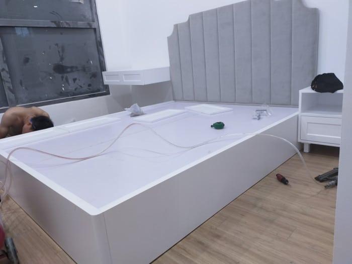 Sản phẩm nội thất giường ngủ cho căn hộ chung cư