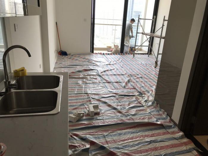 Thi công nội thất trọn gói căn hộ W2 Vinhomes Westpoint Phạm Hùng