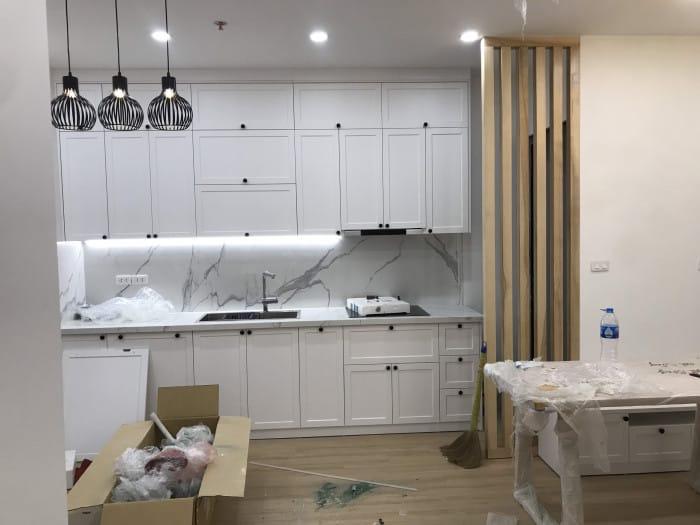 Thi công nội thất trọn gói căn hộ chung cư ở Mễ Trì Hà Nội