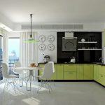 30 mẫu thiết kế nội thất nhà bếp màu xanh lá cây tuyệt đẹp (Phần 2)