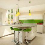 30 mẫu thiết kế nội thất nhà bếp màu xanh lá cây tuyệt đẹp (Phần 1)