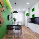 30 mẫu thiết kế nội thất nhà bếp màu xanh lá cây tuyệt đẹp (Phần 3)