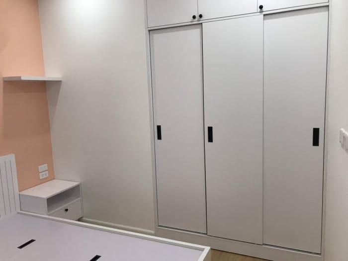 Thiết kế nội thất phòng ngủ chung cư ở mễ trì, từ liêm, hà nội