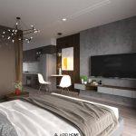 Dự án thiết kế và thi công nội thất căn hộ Studio số 09 W2 Vinhomes Westpoint Phạm Hùng