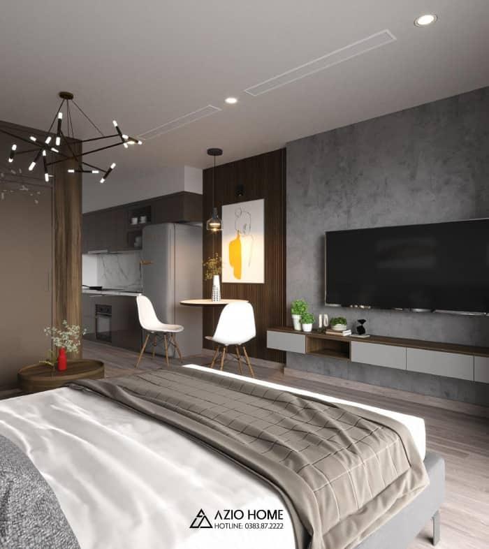 Thiết kế và thi công nội thất căn hộ chung cư W2 Vinhomes Westpoint Phạm Hùng, Hà Nội