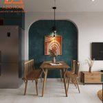 Dự án thiết kế và thi công nội thất căn hộ S2-02 Vinhomes Smart City Tây Mỗ