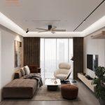 Dự án thiết kế nội thất căn hộ Dual Key số 01 W1 Vinhomes Westpoint Phạm Hùng