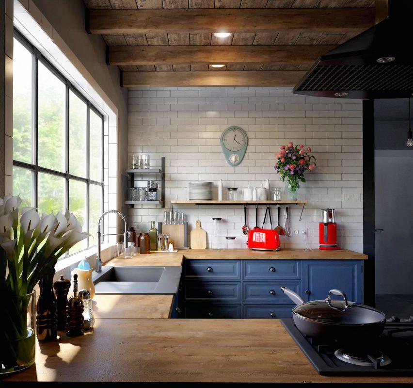 Nội thất đẹp cho phòng bếp