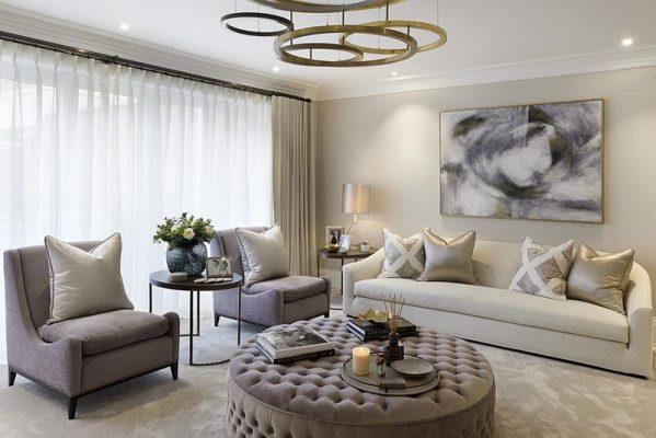 Phong cách tân cổ điển đặc trưng của chung cư