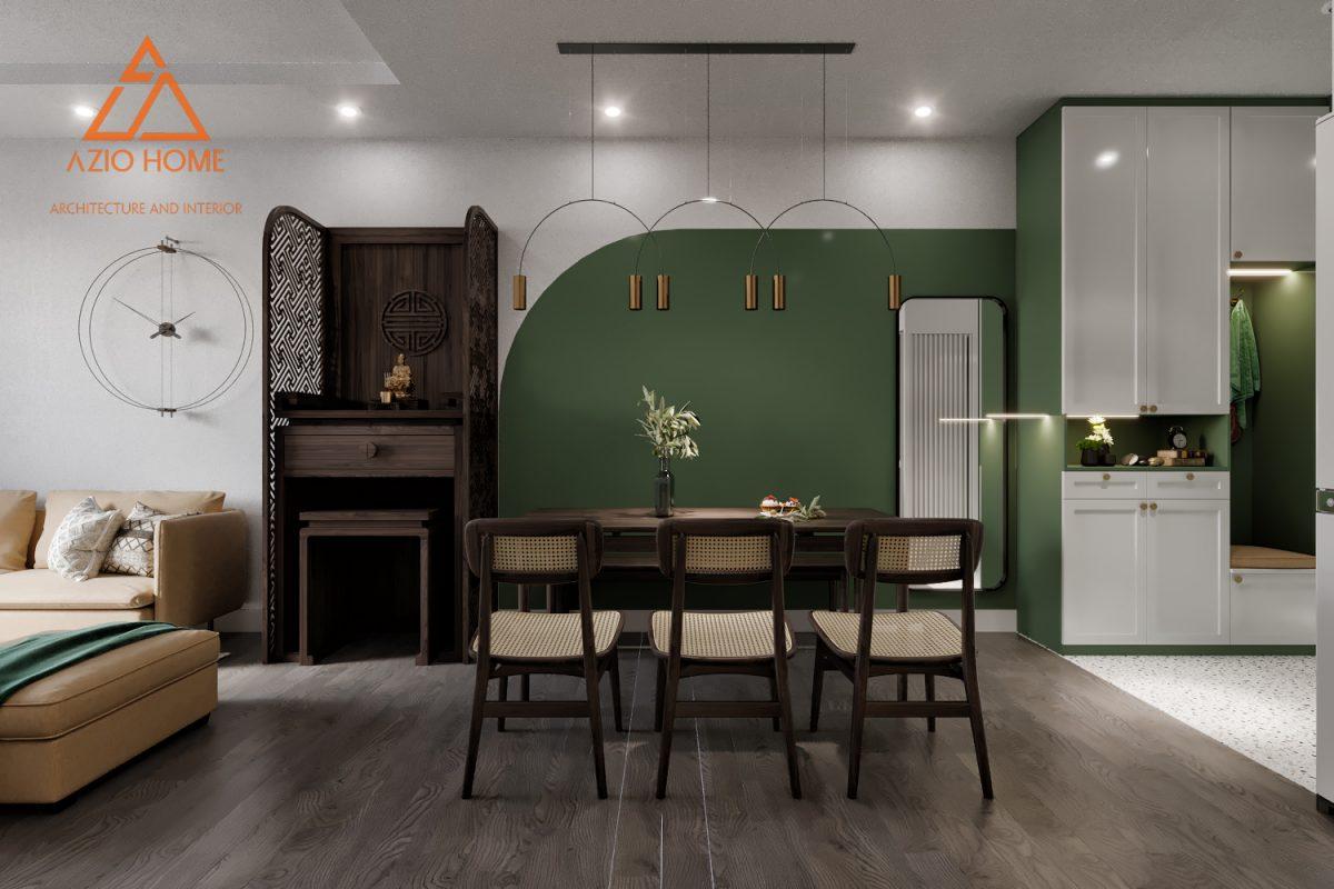 Thiết kế nội thất căn hộ ở Hà Nội