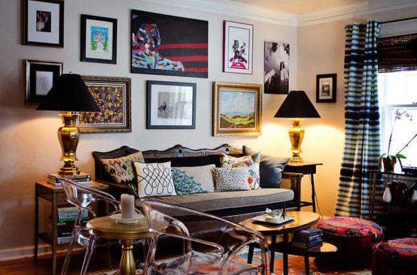 Gam màu giúp cho căn hộ ấm cúng hơn