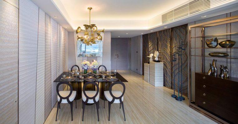 Thiết kế nội thất độc đáo với phong cách tân cổ điển cho căn hộ Vinhomes West Point