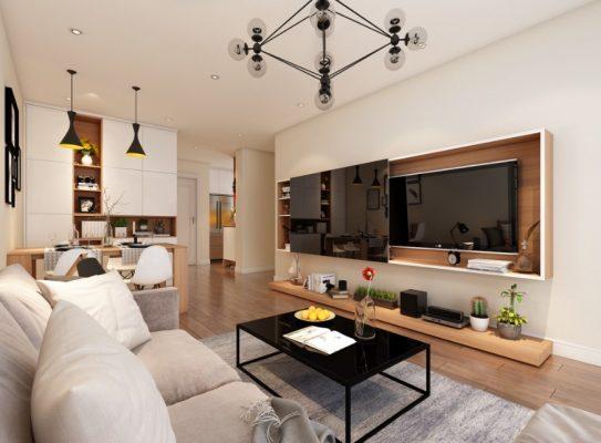 Nội thất căn hộ Vinhomes Smart City