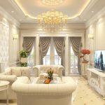 Phong cách thiết kế tân cổ điển cho nội thất chung cư