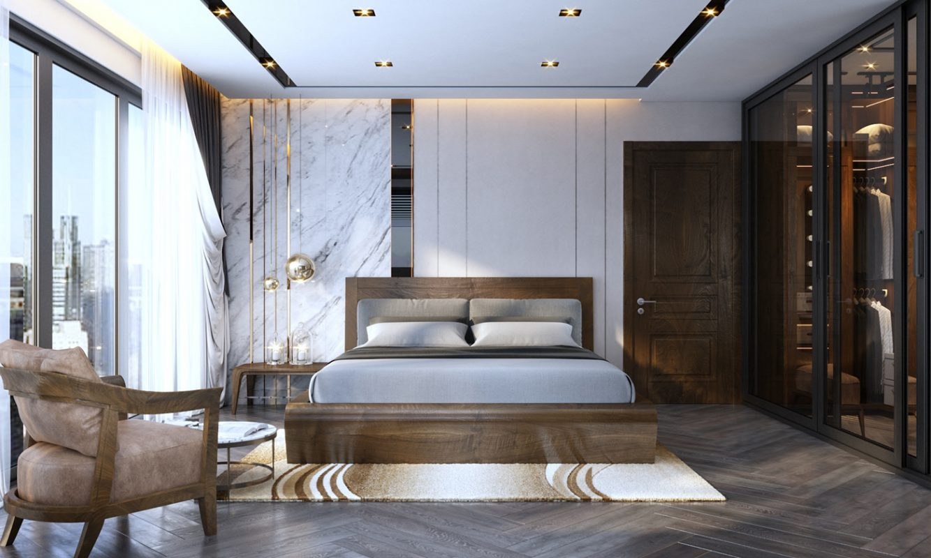 Nội thất phòng ngủ độc đáo