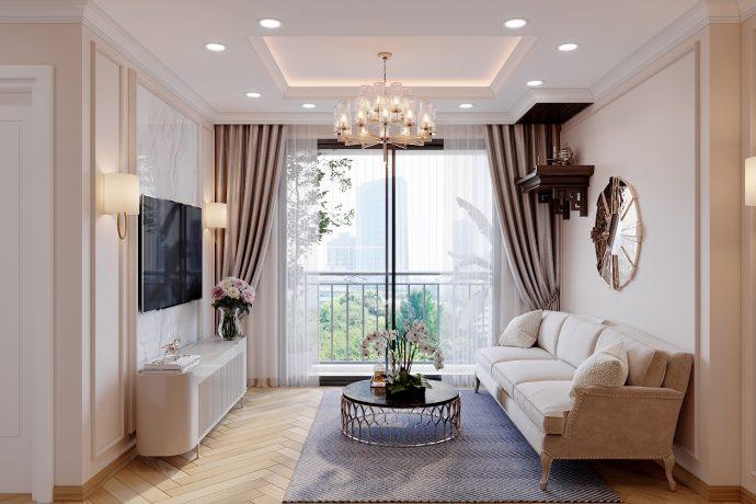 Thiết kế thi công nội thất Vinhomes Smart City