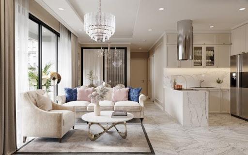 Thiết kế thi công nội thất căn hộ Vinhome