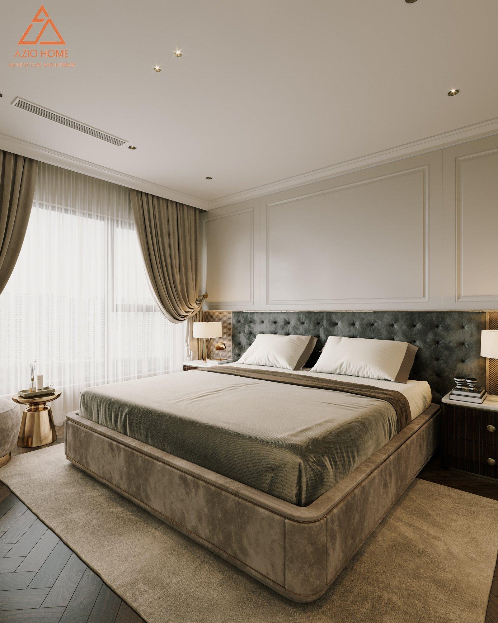 Thiết kế căn hộ Vinhomes 4 phòng ngủ, dự án Westpoint, Hà Nội