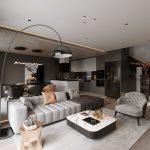 Thiết kế nội thất căn hộ 3 phòng ngủ The Zei