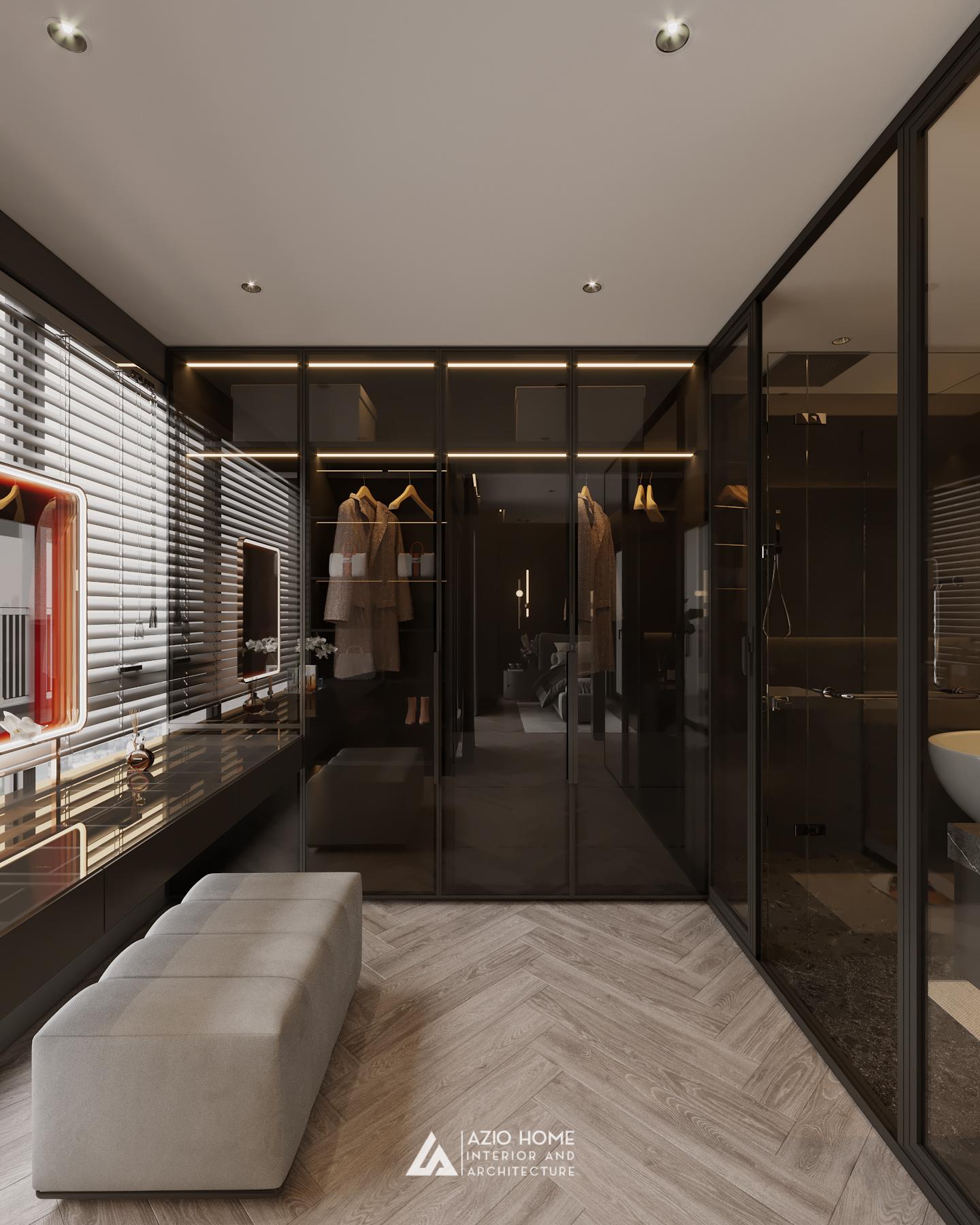 Thiết kế sang trọng cho căn hộ Duplex W2 Vinhomes Westpoint Phạm Hùng, Hà Nội