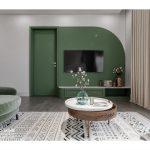 Căn hộ được thiết kế nội thất không gian xanh