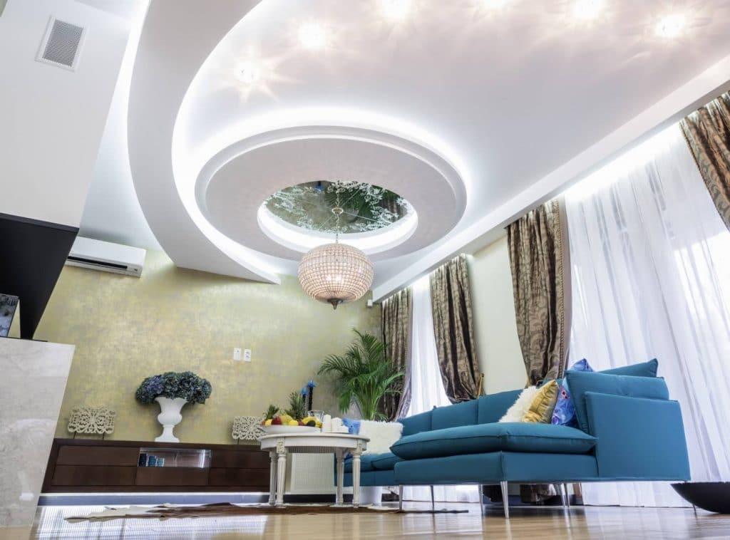 ứng dụng của thạch cao trong nội thất